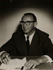 Leonard Rosen, pictured, met Milton Mendelson at Charlotte
