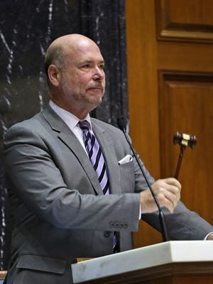 Speaker Brian Bosma leads a Republican-dominated Indiana House.