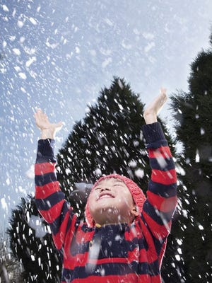 About an inch of snow is expected to fall on Livingston County on Sunday.