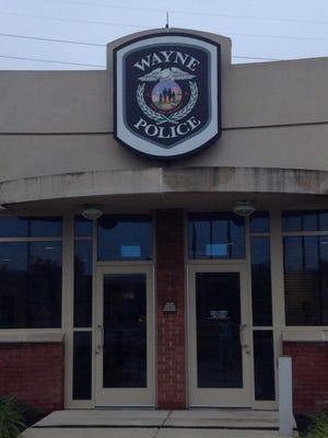 The Wayne police station.