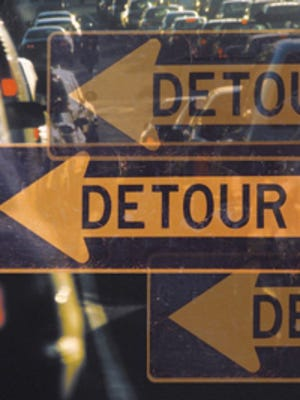 There will be detours this week as DelDOT continues with many construction projects throughout the state.