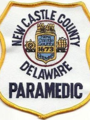 New Castle County paramedics assisted a woman involved in a rollover accident this morning.