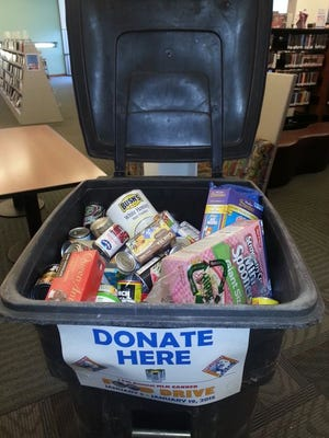 The city of El Paso's annual MLK Canned Food Drive is Tuesday through Jan. 16.