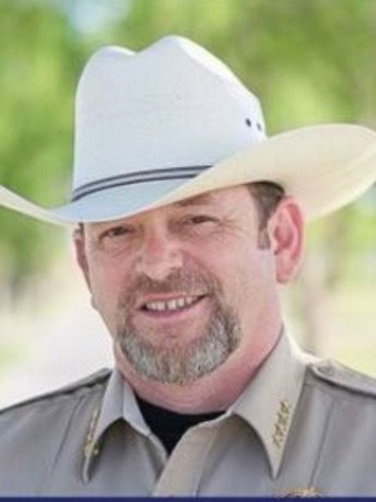 Sheriff Mark Cage