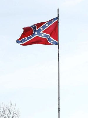 West Monroe High School is enforcing a rule against flying rebel flags on campus before, during or after school.