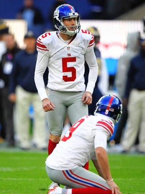Kicker Robbie Gould will be ready when called upon.