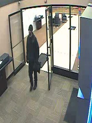 Authorities say a man who allegedly robbed a Chase Bank branch in Rochester on Jan. 5 was arrested in Binghamton.