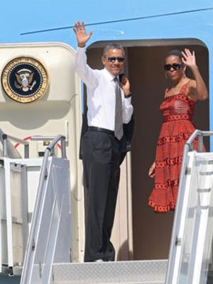President and First Lady Barack and Michelle Obama may make the Coachella Valley their first stop after leaving office.
