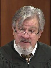 Former judge Sean Delahanty