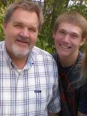 Richard Smith and his son Tyler were killed in the