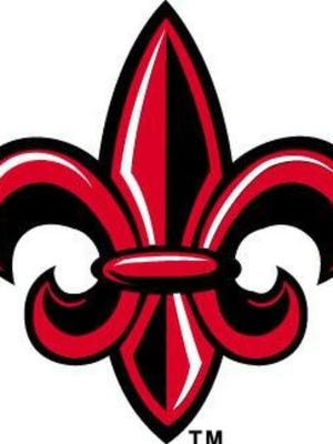 University of Louisiana at Lafayette fleur de lis logo
