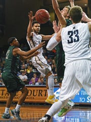 Jordan Spencer is closing in on becoming Augustana's