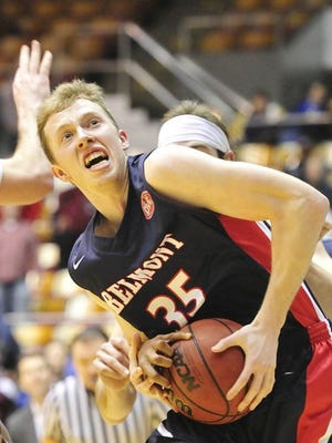 Evan Bradds is 24 points shy of the Belmont career scoring record.