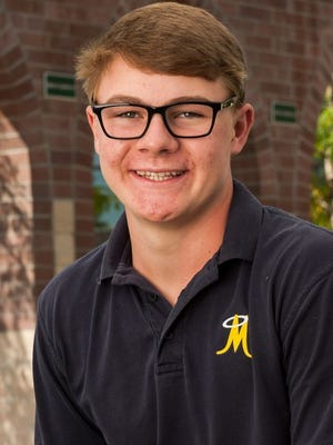 Bishop Manogue's Ollie Osborne took medalist honors and Galena was the first-place team in the first Northern 4A Sierra League boys golf match held Tuesday at Sierra Sage.