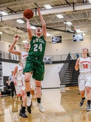 Howell's Leah Weslock helped the Highlanders to a win
