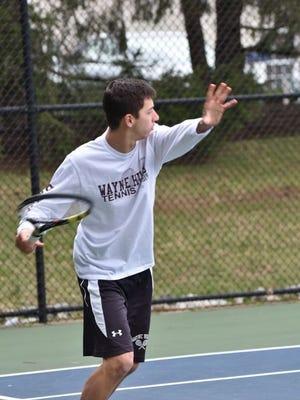 Wayne Hills' senior Jake Goldberg prepares to win again in the Passaic County tournament.