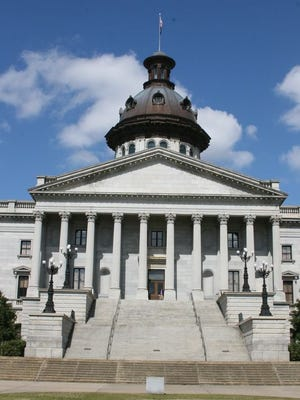 The South Carolina capitol building.