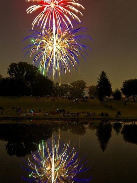 BHM fireworks show