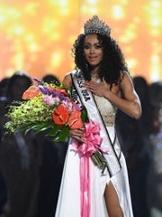 The winner of Miss USA 2017 is Miss D.C. Kara McCullough.