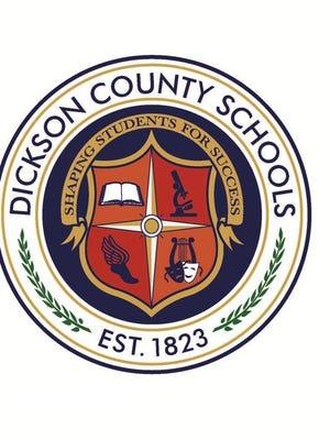 Dickson County Schools seal.