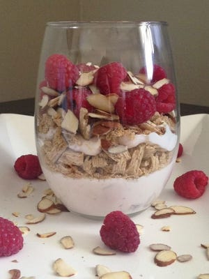 Yogurt contains natural probiotics, also known as good bacteria.