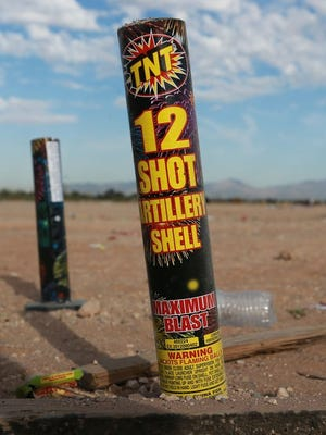 Ted Sweetser, Las Cruces battalion chief-fire marshal, said authorities plan special patrols around the Fourth of July holiday to enforce the city's fireworks rules.