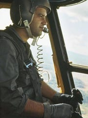 Col. Joe Panza flies the Jolly Green HH-53 helicopter during the Vietnam War.