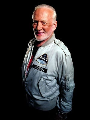 Famed astronaut and Montclair native Buzz Aldrin.