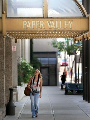 The Radisson Paper Valley Hotel in downtown Appleton.