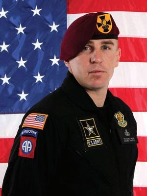 Corey Hood enlisted with the Army immediately after graduating Lakota West High School in 2001. The parachutist died in an accident on Aug. 15, 2015.