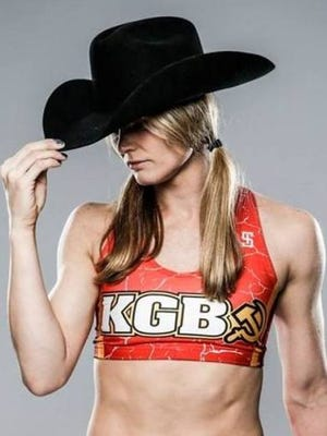 "Shreveport's Andrea ""KGB"" Lee will make her UFC debut next week in Las Vegas."