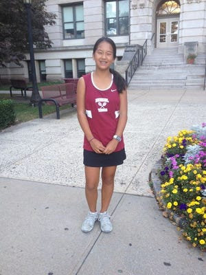 Bloomfield's Aira Abalos finished among the top 32 players in the state.