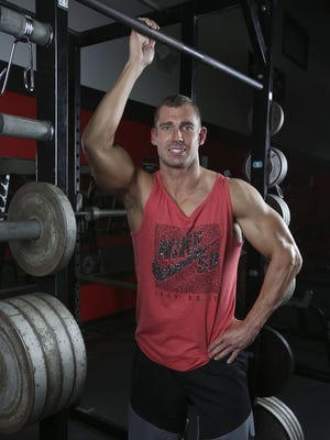 Michael Dubree overcame addiction and dedicated himself to a stringent fitness regimen and nutritional diet as part of that process. His efforts landed him on the cover of Men's Health magazine this month. He works out regularly at Powerhouse Gym. He is careful to say that exercise is only part of the process of overcoming addiction. Nov. 7, 2017
