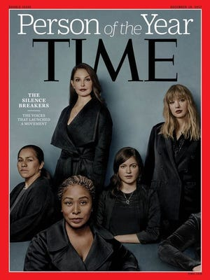Tim magazine picked 'The Silence Breakers' as the magazine's Person of the Year in 2017.