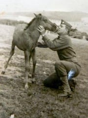 Dr. Harold Neibert was serving with Patton's Army when he was called upon to rescue 40 Lipizzan stallions.
