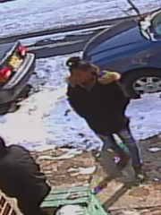 Police say a witness recognized a woman seen in surveillance images recorded near the scene of a Jan. 8 slaying in East Camden.