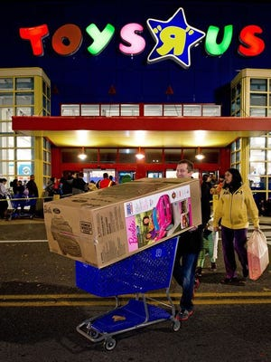 Toys R Us plans to close 182 stores.