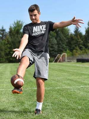 Northville's Jake Moody is committed to kick for Michigan.