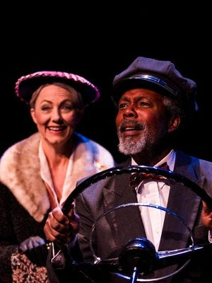 "Jan Broberg, left, stars as Daisy Werthan and Clarance Gilyard stars as Hoke Coleburn in ""Driving Miss Daisy."""