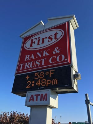 The First Bank & Trust Co. was robbed Dec. 1 in Waynesboro.