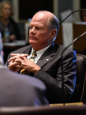Senate President Pro Tempore David McBride (D-Hawk's Nest)