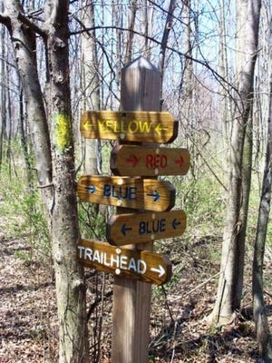 """The Friends of Webster Trails will host a """"hidden gems"""" trail hike on National Trails Day, Saturday June 2. The 2.5-mile hike will explore some of Webster's lesser-known trails."""