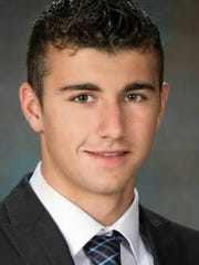 South Western senior Joshua Cuddy.