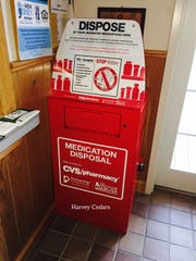 With Memorial Day weekend just more than a month away, Long Beach Island gets its newest drop box for old prescription medicines — this one in Harvey Cedars.