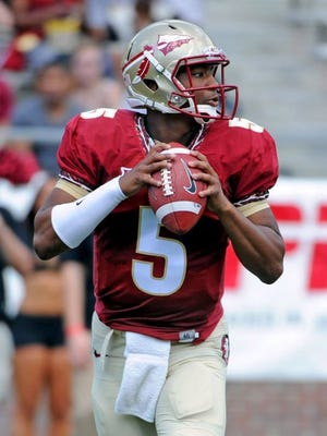 Florida State's Jameis Winston was one of nine Seminoles named to the preseason All-ACC team on Wednesday.