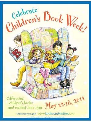 Official Children's Book Week poster.
