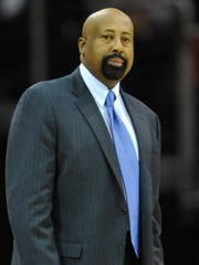 Mike Woodson is interviewing for the Knicks' head coaching position.