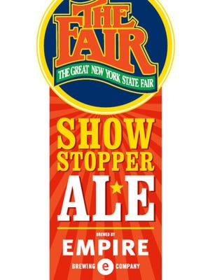 Showstopper Ale is the first official beer of the New York State Fair.
