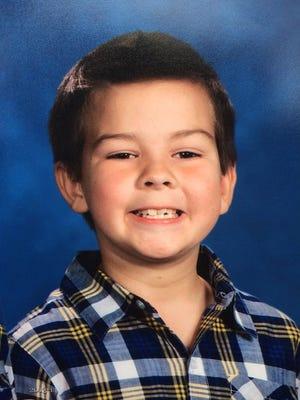 Matthew McCloskey, 10, of Franklin was fatally struck by a Franklin police car on Dec. 28, 2014.