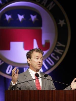 Republican U.S. Sen. Rand Paul of Kentucky
